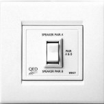 QED WM17 Wall Mount Stereo Speakers Switch (Series)