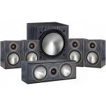 Monitor Audio Bronze 1 AV 5.1 Speaker Package - Black