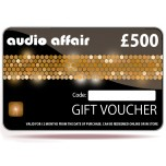 Audio Affair £500 Gift Voucher