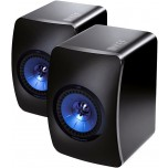 KEF LS50 Wireless Speakers (Pair) - Gloss Black