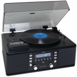 TEAC LPR550 USB Vinyl and Cassette CopySystem - Black