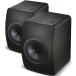 KEF LS50 Speakers Black Edition (Pair) Front