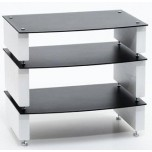 Custom Design Milan Inert 3 Shelf Hi-Fi Stand