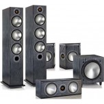 Monitor Audio Bronze 6 AV 5.1 Speaker Package Black