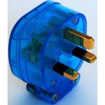 MS HD Power MS-328GK The Blue Gold 13A UK Mains Plug