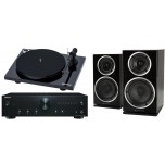 Onkyo A9010 + Wharfedale Diamond 220 + Pro-Ject Essential III Hi-FI System Package