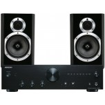 Wharfedale 10.1 Black Speakers + Onkyo A-9010 Amplifier Package