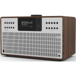 Revo SuperCD All-In-One Music System Walnut/Silver
