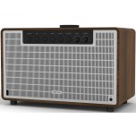 Revo SuperTone Bluetooth All-In-One Music System Walnut Silver