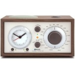Tivoli Model Three BT AM/FM Clock Radio with Bluetooth - Walnut/Beige