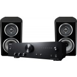 Onkyo A9010 + Wharfedale Diamond 11.1 Black Hi-Fi System Package