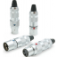 Oyaide FOCUS 1 XLR Plugs - 4 Pack