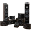 Elipson Prestige Facet 7.2.4 Speaker Package Walnut