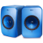 KEF LSX Wireless Speakers Blue