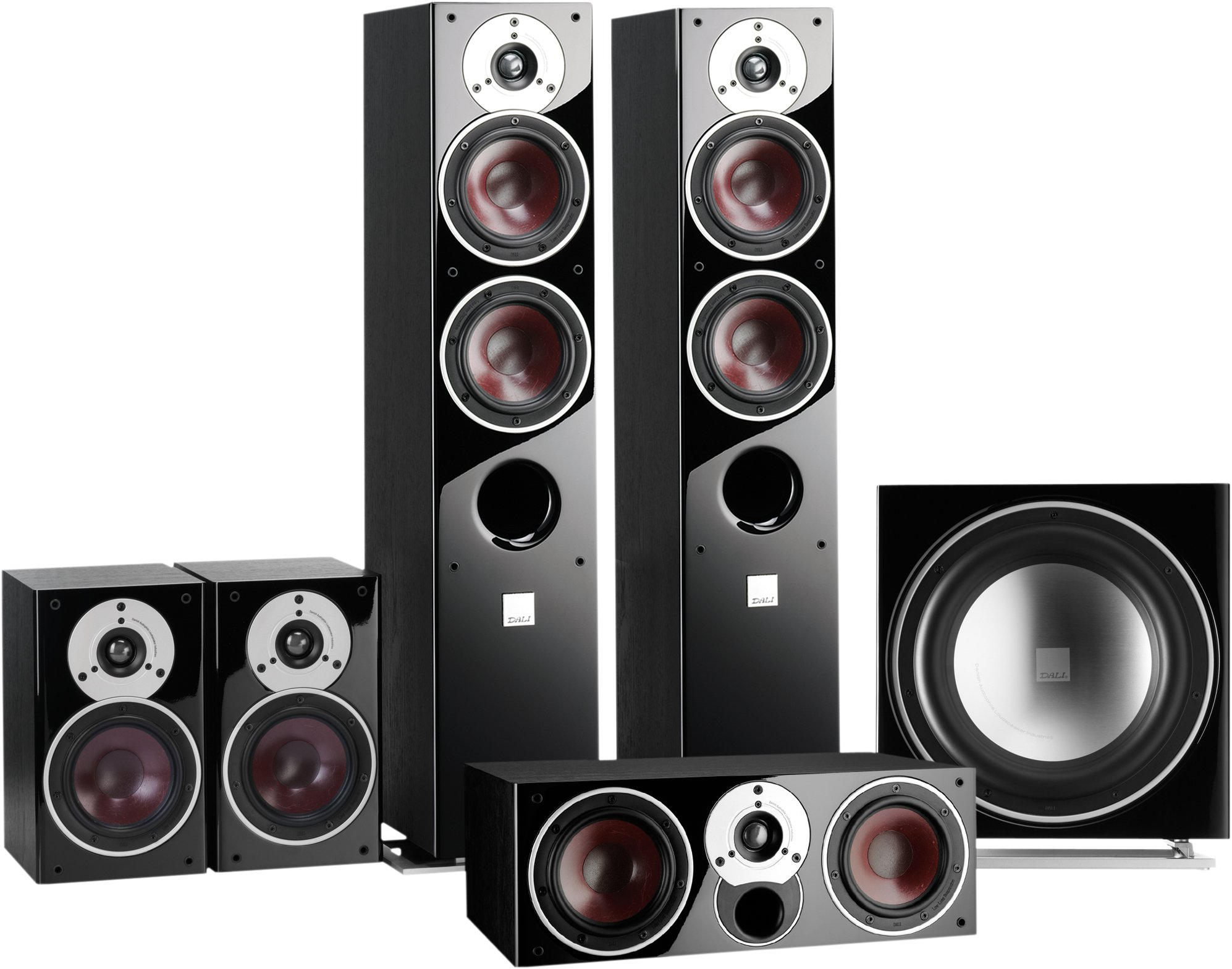 dali zensor 5 5 1 speaker package at audio affair. Black Bedroom Furniture Sets. Home Design Ideas