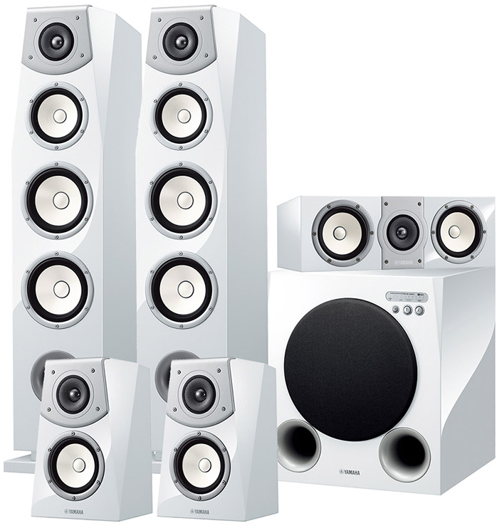 Yamaha soavo ns av901 5 1 speaker package at audio affair for Yamaha ns 50 speaker pack