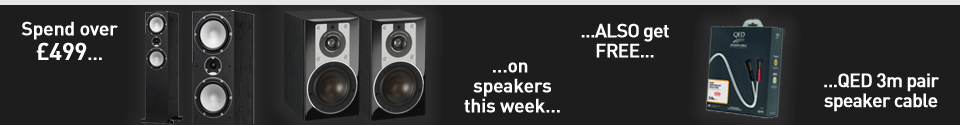 Black Friday week speaker offers