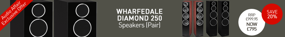 Wharfedale Diamond 250 speakers