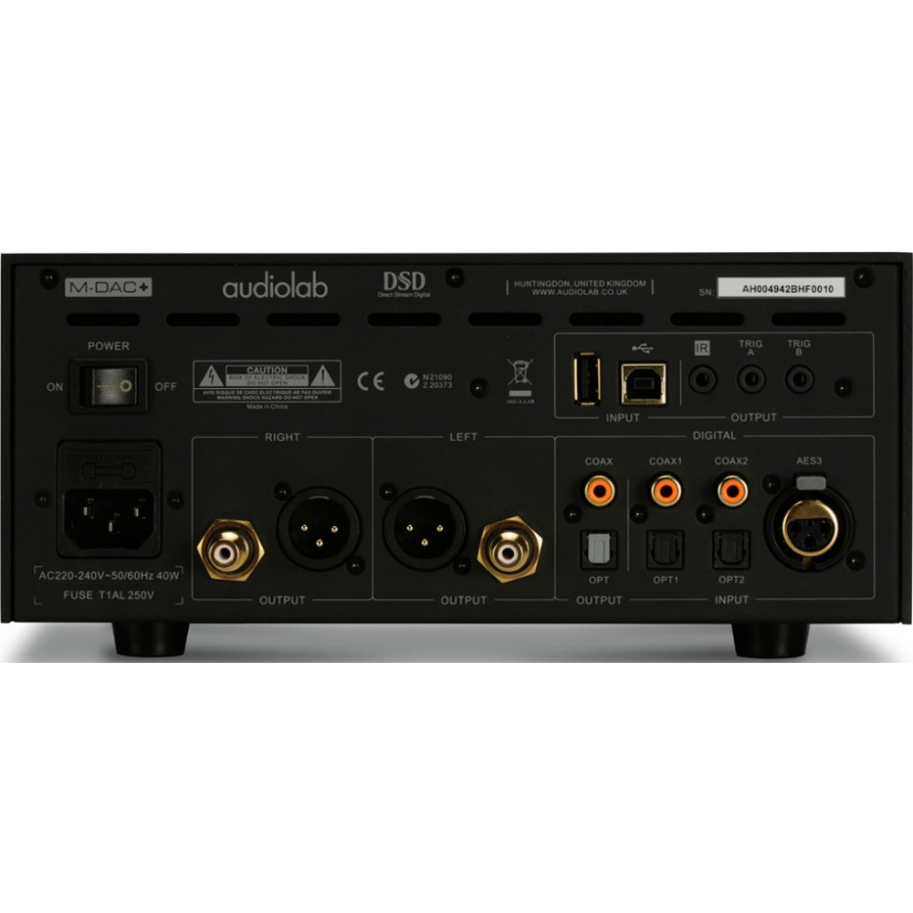 Audiolab M-DAC+ Plus DAC - Black