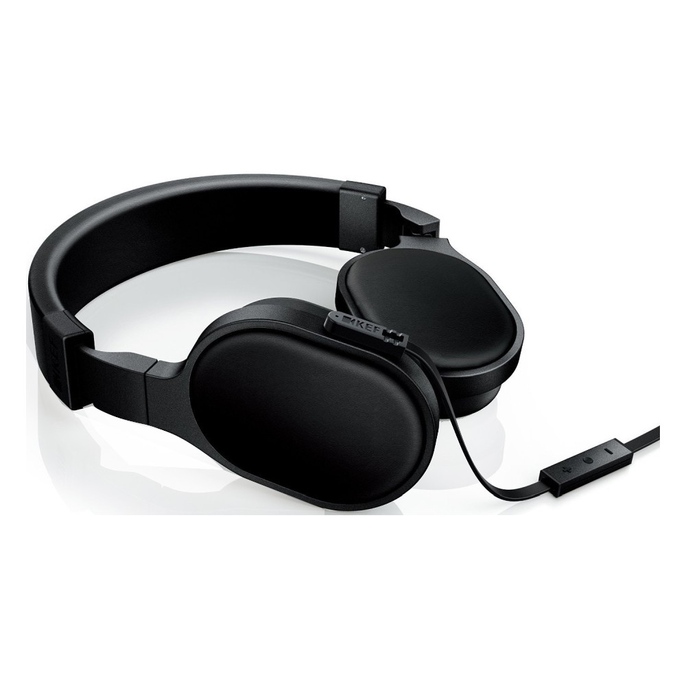 07467c678a5 KEF M500 Headphones with Remote - Black at Audio Affair
