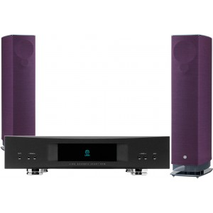 Linn 530 Speakers (Pair) with Akurate Exakt DSM