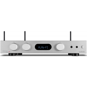 Audiolab 6000A Play Amplifier and Streamer System Silver