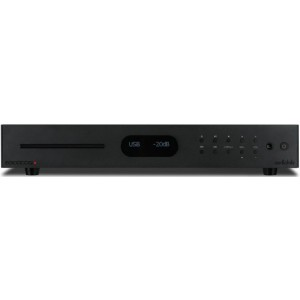 Audiolab 8300CDQ CD Player and DAC - Black Front