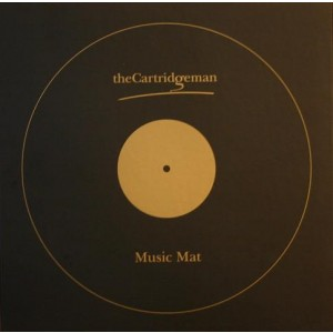 Cartridge Man Music Mat Turntable Mat