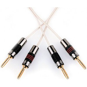 QED Silver Micro Speaker Cable - 100m Reel