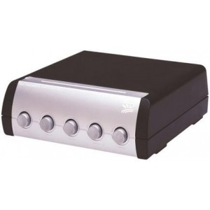 QED SS50 5-Way Speaker Switch Box