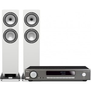 Arcam SA20 Amplifier + Tannoy Revolution XT 8F Speakers