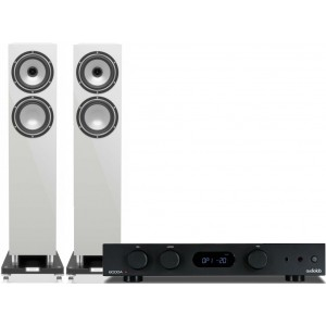 Audiolab 6000A Amplifier + Tannoy Revolution XT 6F Speakers