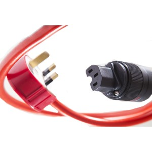 Ecosse Big Red Max Mains Cable