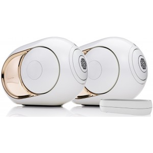 Devialet Gold Phantom Active Wireless Speaker (Pair) + Dialog
