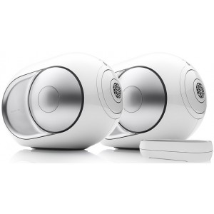 Devialet Silver Phantom Active Wireless Speaker (Single) - Refurbished with Dialog