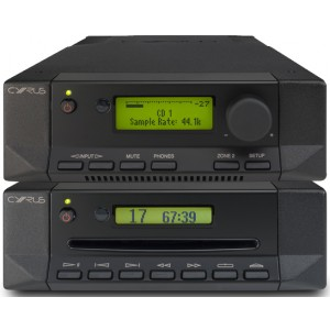 Cyrus CDT + 8 DAC Package Deal - Black