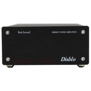 Trichord Diablo Phono Stage Black Front