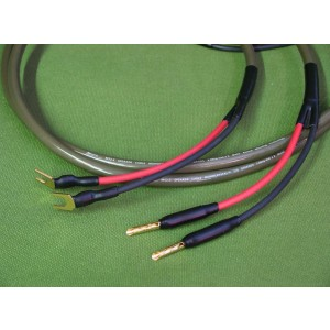 Ecosse MS2.15 Monocrystal Solidcore Speaker Cables (Terminated)