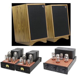 HiFi Package 19 - Icon Audio MB90 MkII M + LA4 MkII + Klipsch Heritage Heresy