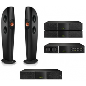 HiFi Package 30 - Naim NAP 300 DR Power inc 300PS DR + NAC 252 + Supercap + KEF Blade 2