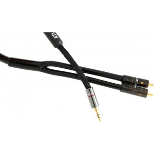 Atlas Hyper Metik J2P 3.5mm Minijack to RCA Cable