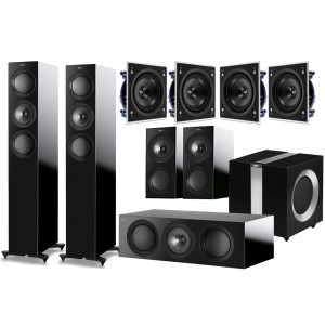KEF R5 5.1 Speaker Package + Ci200QS for Atmos