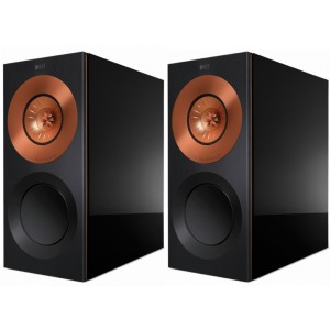 KEF The Reference 1 Speakers Black copper aluminium