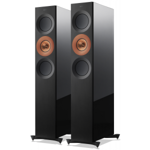 KEF The Reference 3 Speakers copper aluminum black