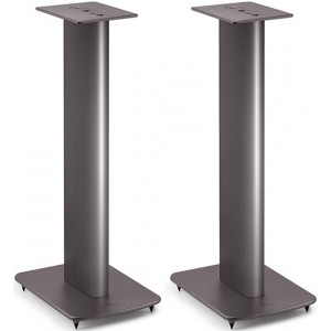 KEF Performance Black Speaker Stands (Pair) Silver