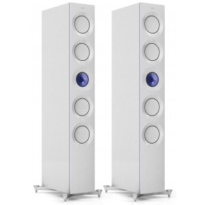 KEF The Reference 5 Speakers Blue Ice White