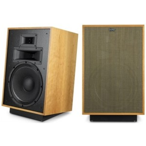 Klipsch Heritage Heresy IV Speakers Pair Cherry