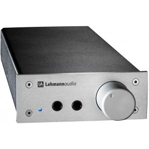 Lehmann Audio Linear Headphone Amplifier Silver