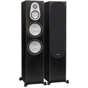 Monitor Audio Silver 500 Speakers (Pair) Black Oak