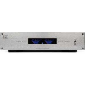 Mitchell and Johnson S815 Power Amplifier Silver
